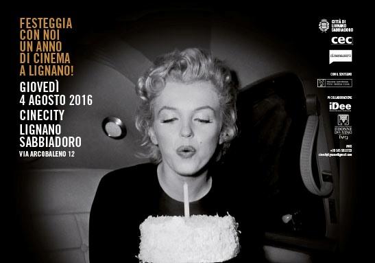 Festa in memoria di Marilyn Monroe