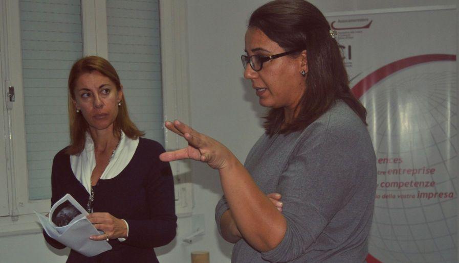 Ilaria Guidantoni incontra Samia Benali