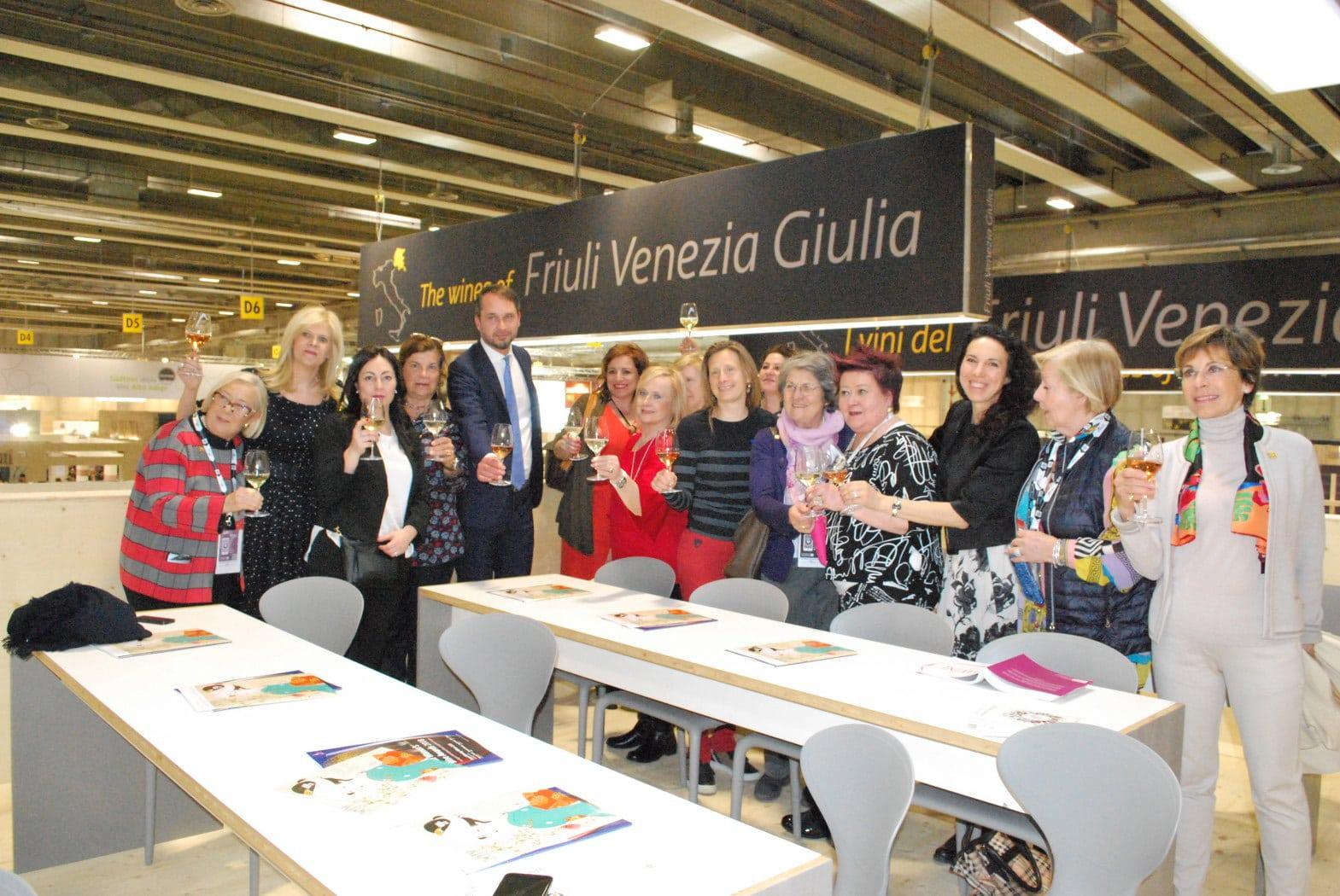 Vinitaly 2018. Le Donne del Vino del Friuli VG brindano al trentennale dell'Associazione