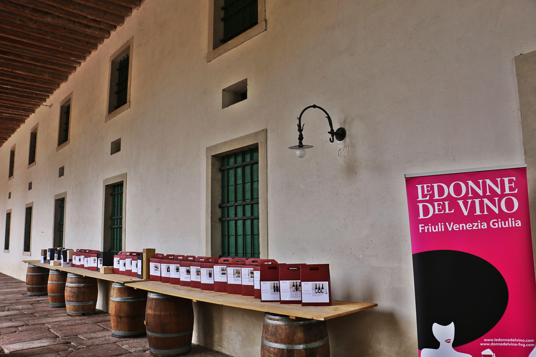 Un'asta per Donatella con Le Donne del Vino del Friuli Venezia Giulia. Villa Brandolini d'Adda 27 ottobre 2018