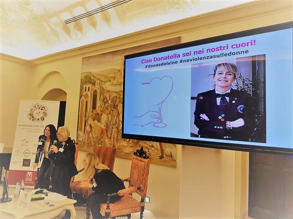 """Matera """"Le Donne del Vino nel Mondo"""" Un pensiero per Donatella Briosi. Palazzo Vice-Conte, 16 Novembre 2018"""