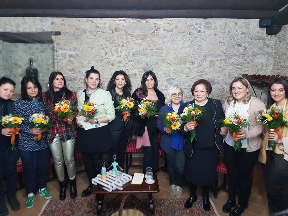 Calabria. Festa Donne Vino Design. Azienda Librandi 2 marzo 2019