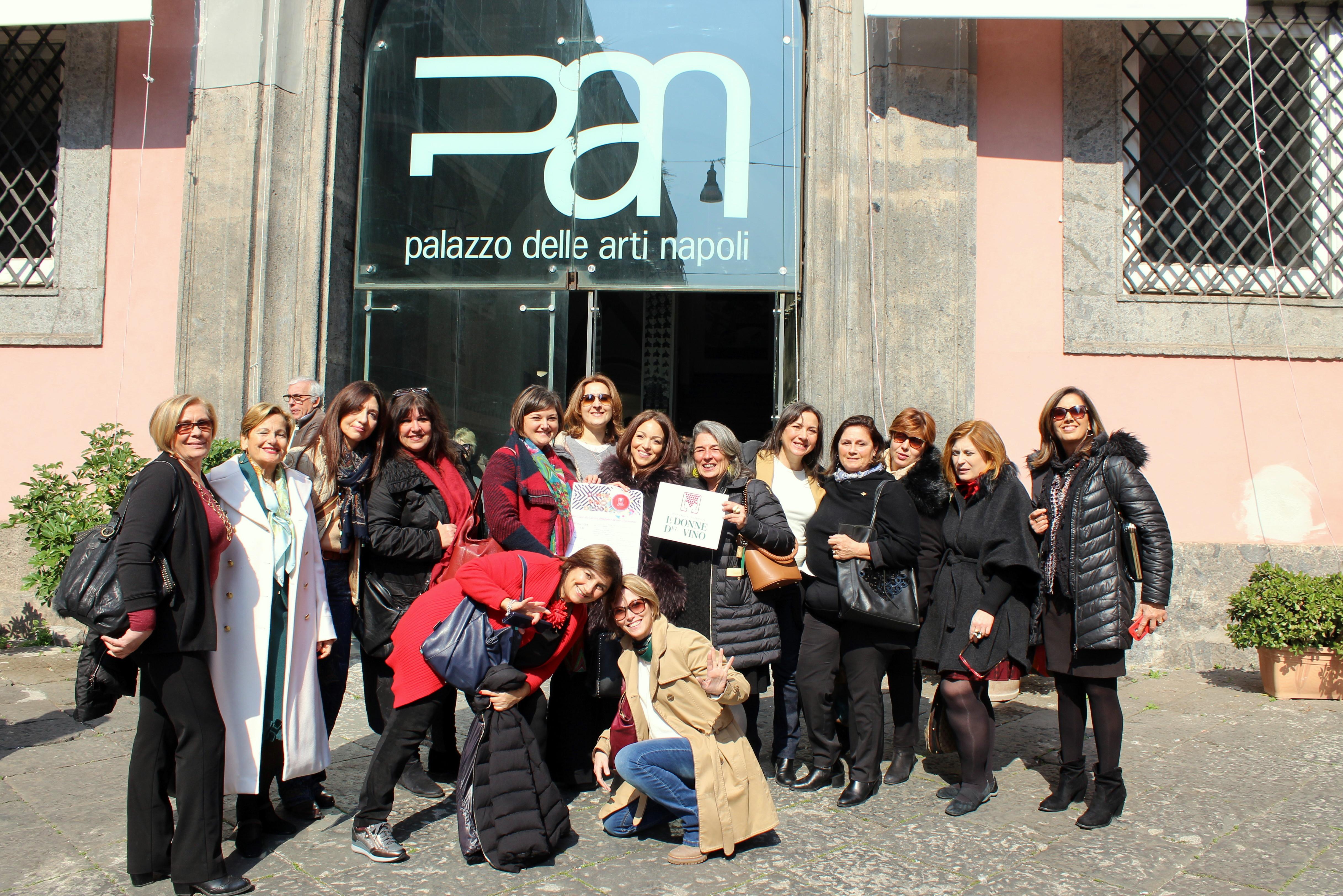 Campania. Festa Donne Vino Design, Palazzo delle Arti di Napoli, 8 marzo 2019