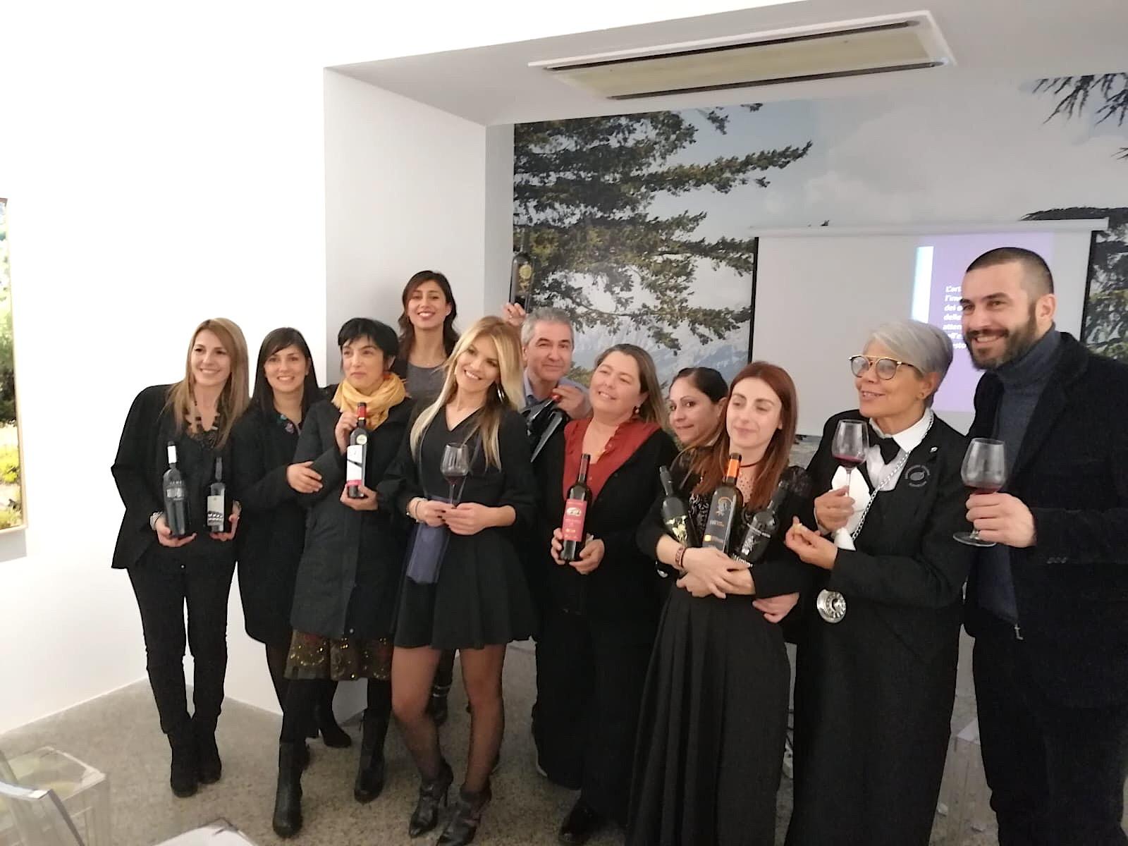 Sardegna. Festa Donne Vino design, Cantina Audarya, 2 marzo 2019