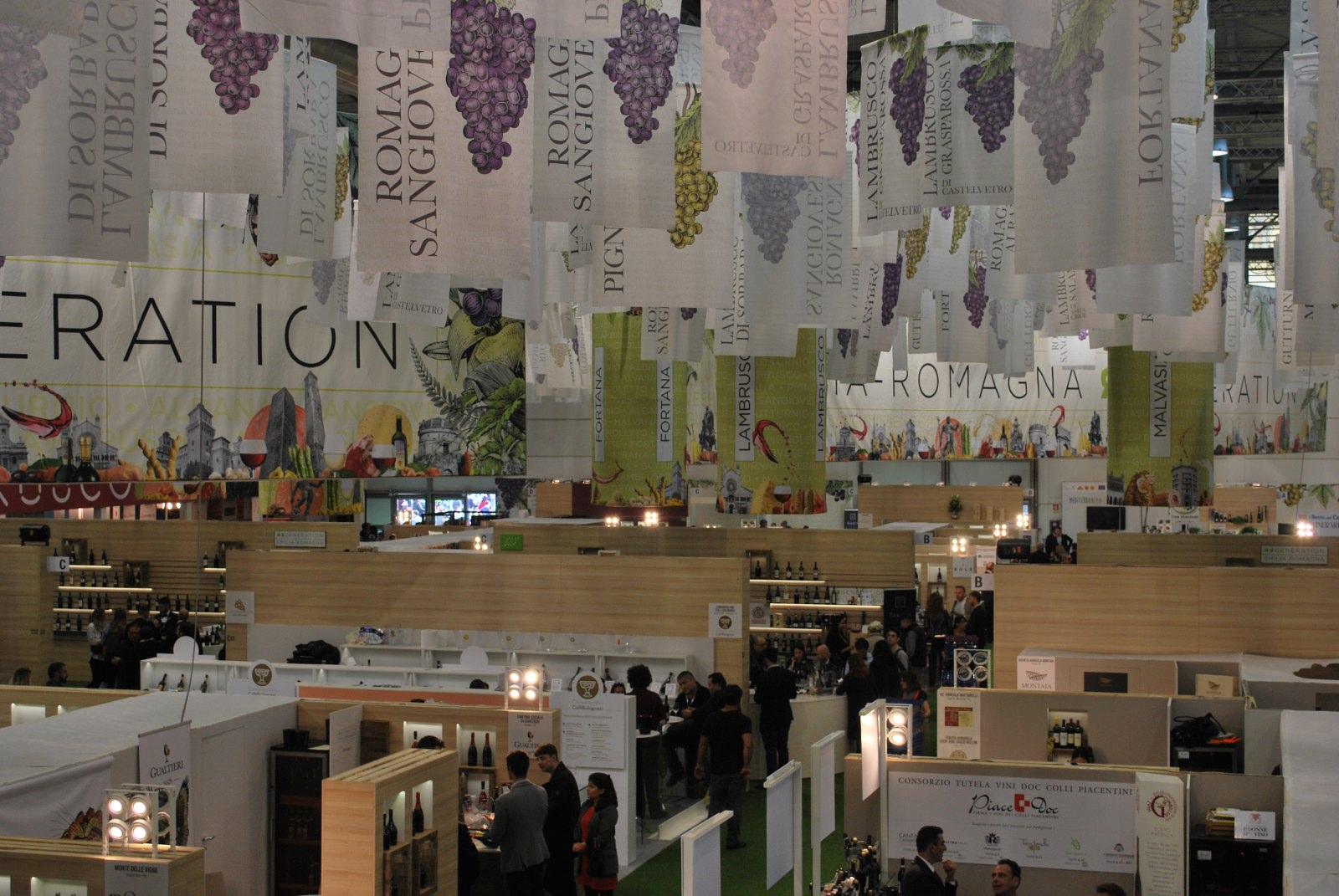 """VINITALY 2019. """"Donne del vino e doc"""" degustazione dei vini delle Donne del vino dell'Emilia Romagna e Parmigiano. 9 aprile 2019"""