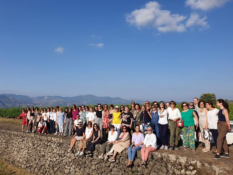 Sicilia Convention Nazionale. Le Donne del vino ai piedi dell'Etna. Foto di Lenny Fanara