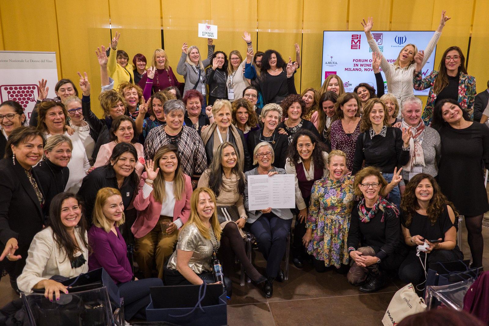 FORUM OF THE WOMEN IN WINE WORLDWIDE, SIMEI  – Milano, 20 novembre 2019