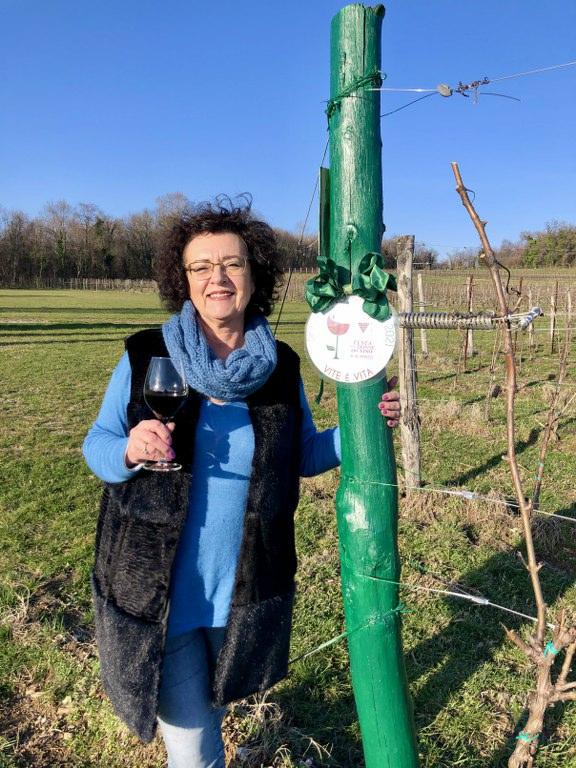"""""""Vite è Vita"""" festa delle Donne del Vino Friuli Venezia Giulia marzo 2021"""