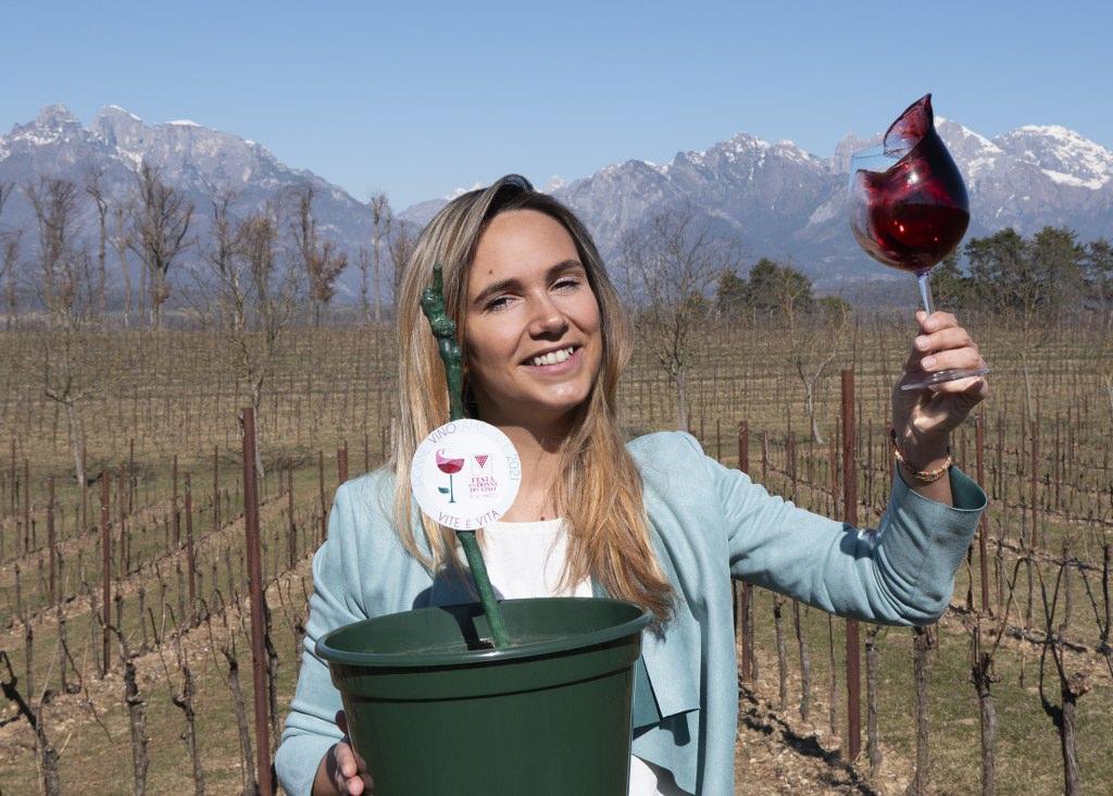 """""""Vite è Vita"""" festa delle Donne del Vino Lombardia marzo 2021"""