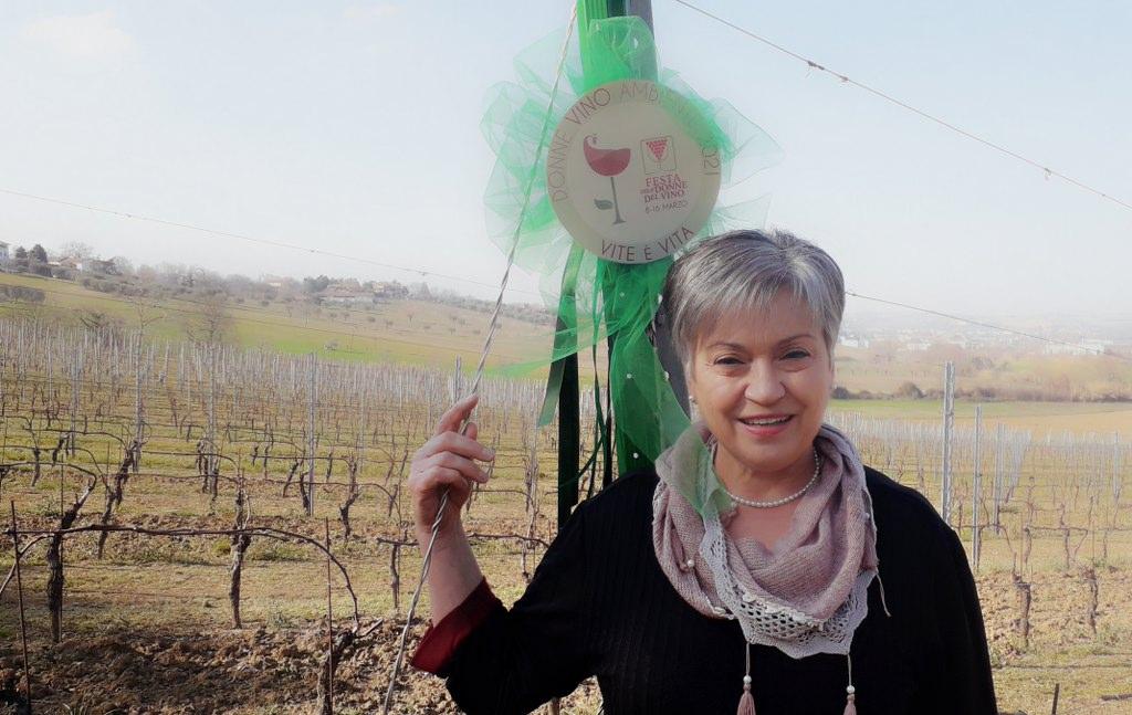 """""""Vite è Vita"""" festa delle Donne del Vino Marche marzo 2021"""