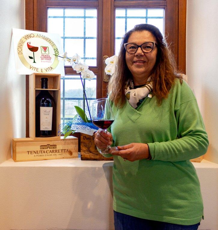 """""""Vite è Vita"""" festa delle Donne del Vino Piemonte marzo 2021"""
