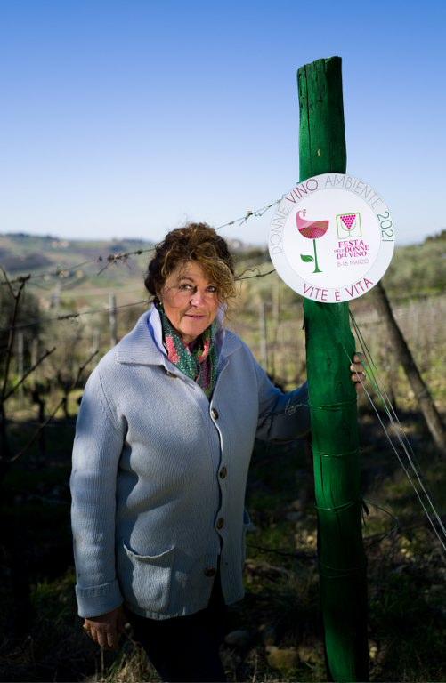 """""""Vite è Vita"""" festa delle Donne del Vino Toscana  marzo 2021"""